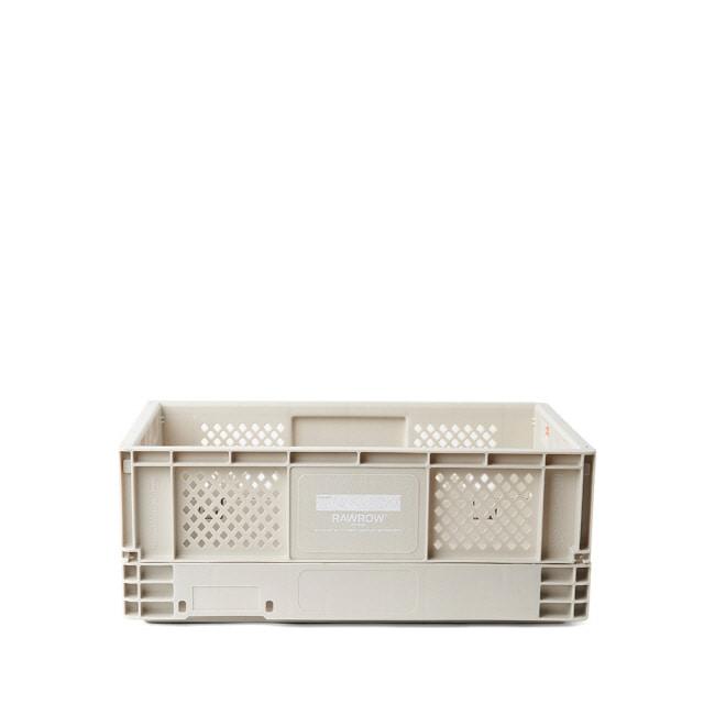 로우로우 R 캠핑 폴딩 박스 S Ivory