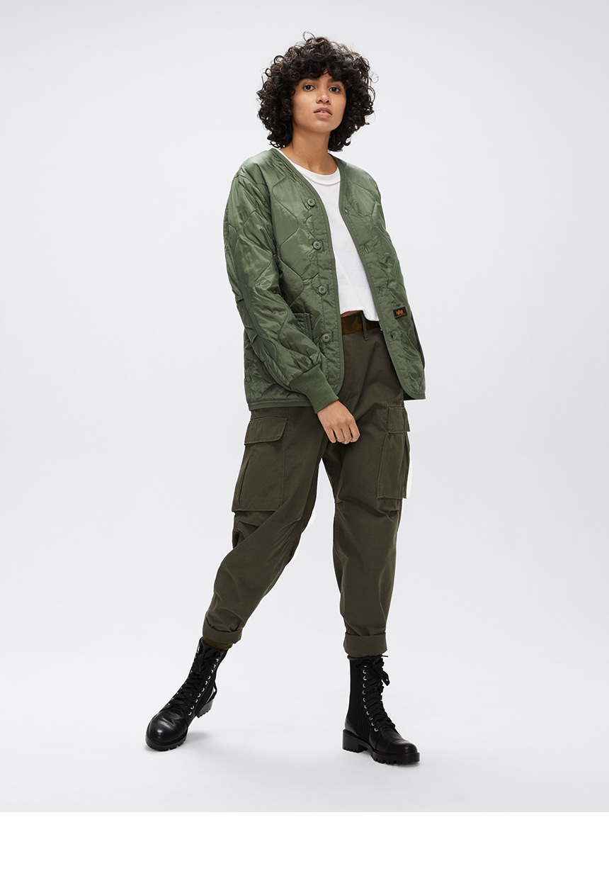 알파 인더스트리(ALPHA INDUSTRIES) ALS/92 라이너 Olive Green