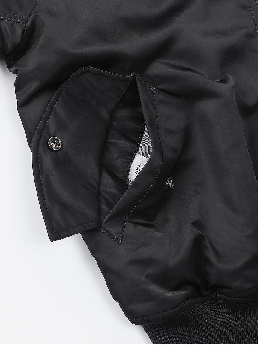 알파 인더스트리(ALPHA INDUSTRIES) MA-1 레귤러 Black