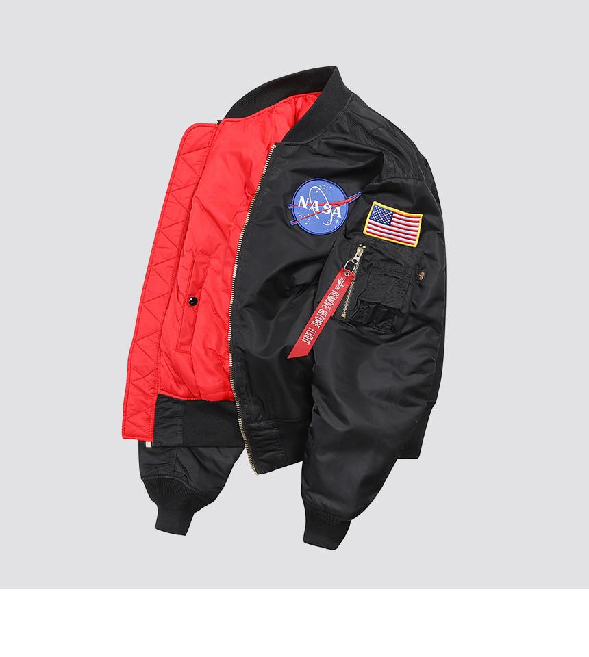 알파 인더스트리(ALPHA INDUSTRIES) MA-1 아폴로 Black