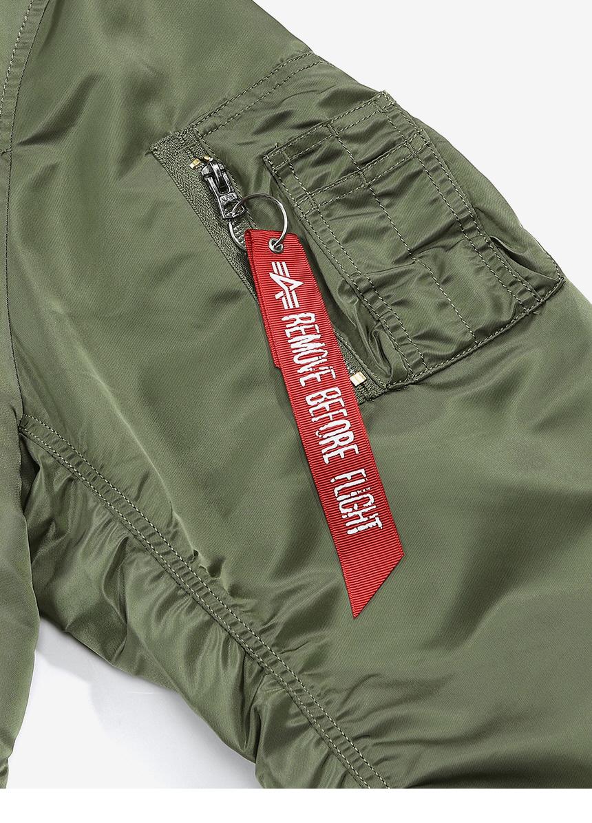 알파 인더스트리(ALPHA INDUSTRIES) L-2B 루즈핏 Sage Green