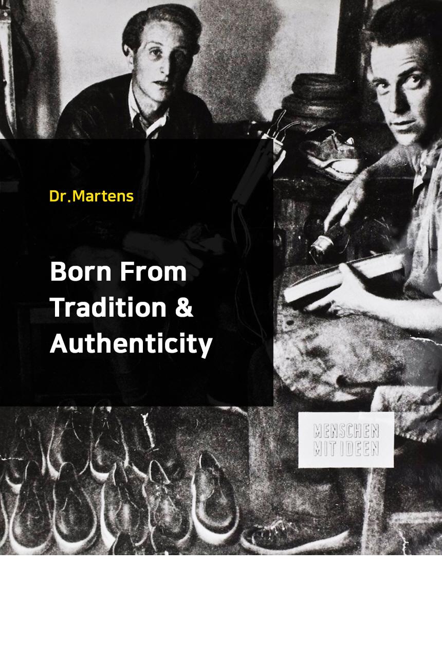 닥터마틴(DR.MARTENS) 1460 무광블랙 11822002