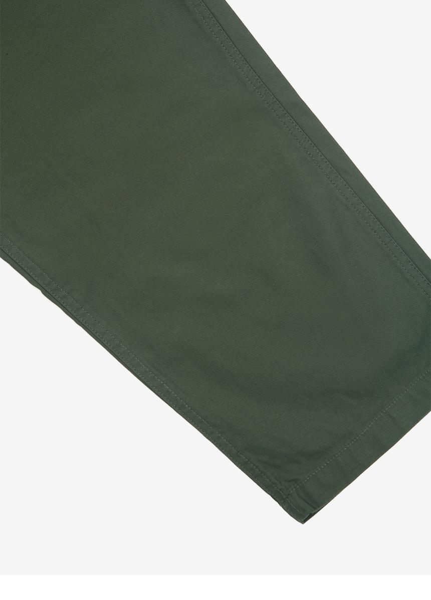 그라미치(GRAMICCI) 루즈테이퍼드 백새틴 팬츠 Deep Olive