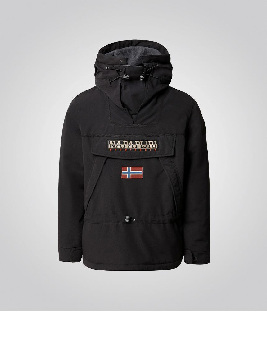 나파피리(NAPAPIJRI) 스키두2 롱 아노락 Black